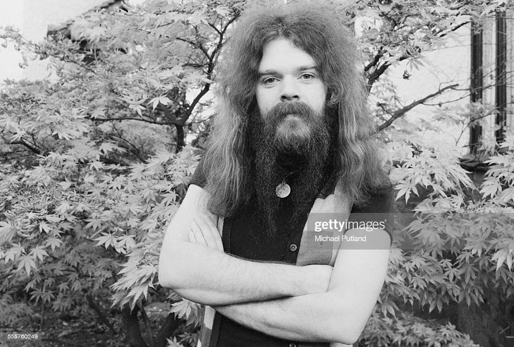 Singer-songwriter and musician Roy Wood of English pop group Wizzard, London, 29th October 1975.