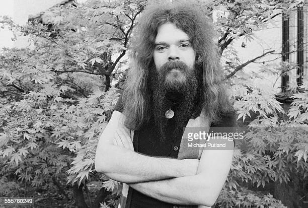 Singersongwriter and musician Roy Wood of English pop group Wizzard London 29th October 1975