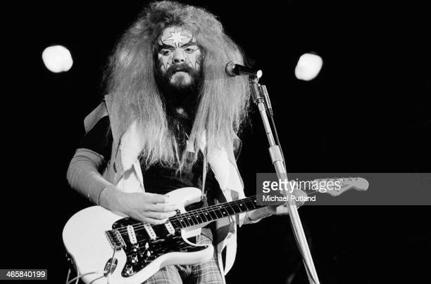 Singersongwriter and musician Roy Wood performing with English pop group Wizzard 27th February 1974