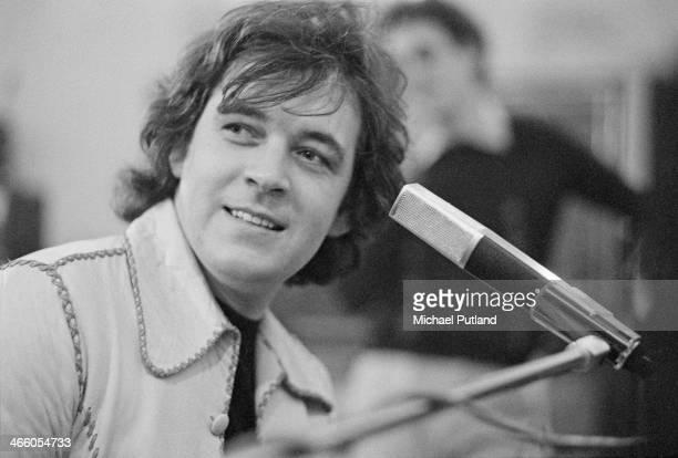 Singersongwriter and pianist Gary Brooker of British rock group Procol Harum 1974