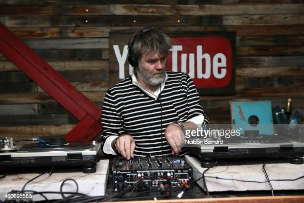 Singersongwriter and producer James Murphy performs during the YouTube on Main Street Party on January 18 2014 in Park City Utah
