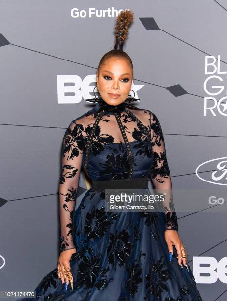 Singer-songwriter and Rock Star Award recipient Janet Jackson attends 2018 Black Girls Rock! at New Jersey Performing Arts Center on August 26, 2018...