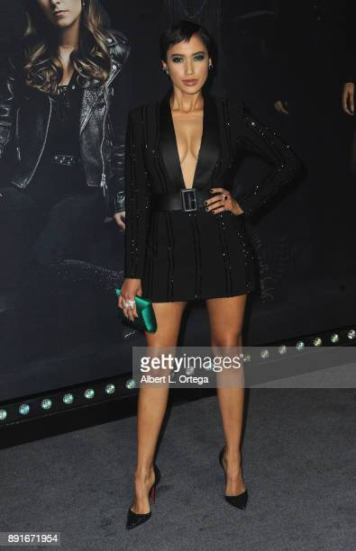Singersongwriter Andy Allo arrives for the Premiere Of Universal Pictures' 'Pitch Perfect 3' held at The Dolby Theater on December 12 2017 in...