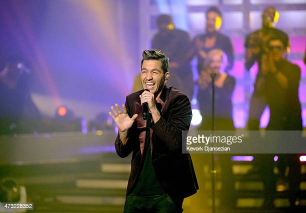 Singer/songwriter Andy Grammer performs onstage during 'American Idol' XIV Grand Finale at Dolby Theatre on May 13 2015 in Hollywood California