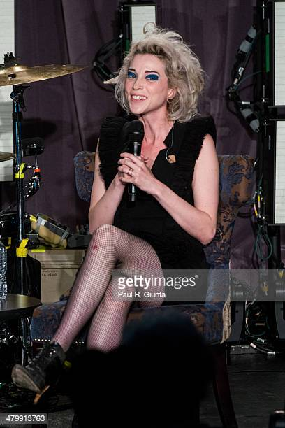 Singer/songwriter Annie Clark aka St Vincent speaks onstage at the GRAMMY Museum on March 20 2014 in Los Angeles California