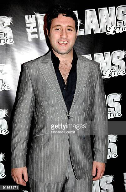 Singersongwriter Anthony Costa attends The Nolans Aftershow party at Via on October 13 2009 in Manchester England