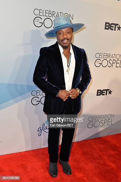 Singersongwriter Anthony Hamilton attends BET Celebration Of Gospel 2016 at Orpheum Theatre on January 9 2016 in Los Angeles California