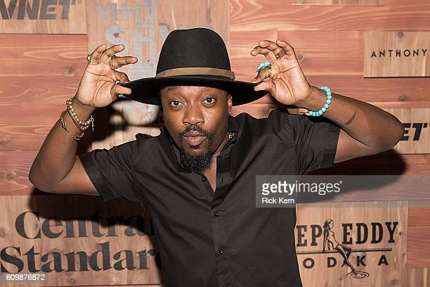 Singersongwriter Anthony Hamilton attends VH1 Save The Music's Musically Mastered Menu Austin at Central Standard on September 22 2016 in Austin Texas