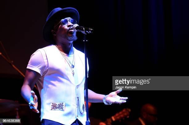 Singersongwriter Anthony Hamilton performs onstage during NMAAM Celebration of Legends Galaon May 31 2018 in Nashville Tennessee