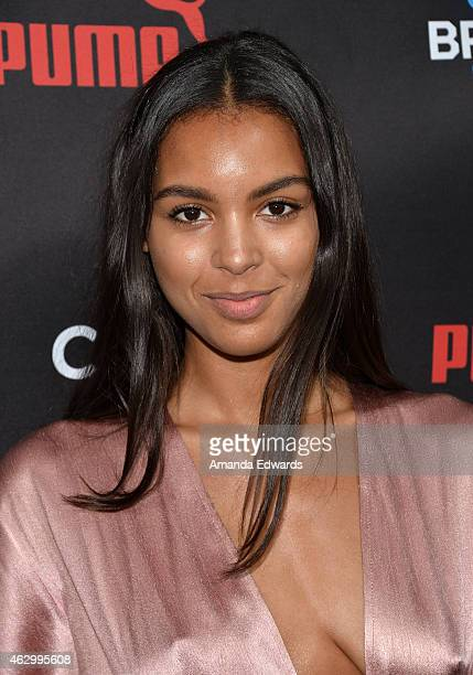 Singersongwriter Arlissa arrives at the Roc Nation Grammy Brunch 2015 on February 7 2015 in Beverly Hills California