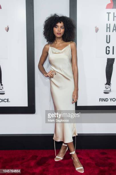 Singer/Songwriter Arlissa Ruppert attends The Hate U Give New York Screening at the Paris Theatre on October 4 2018 in New York City