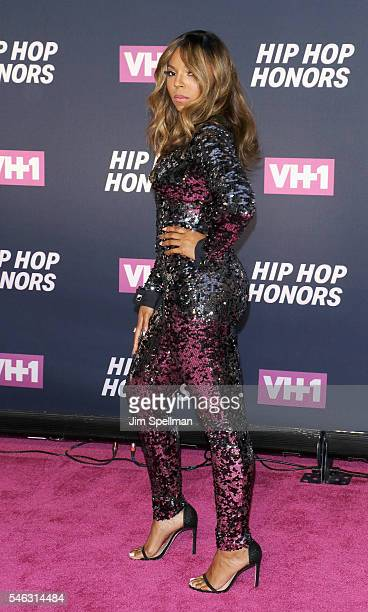 Singer/songwriter Ashanti attends the 2016 VH1 Hip Hop Honors All Hail The Queens at David Geffen Hall on July 11 2016 in New York City