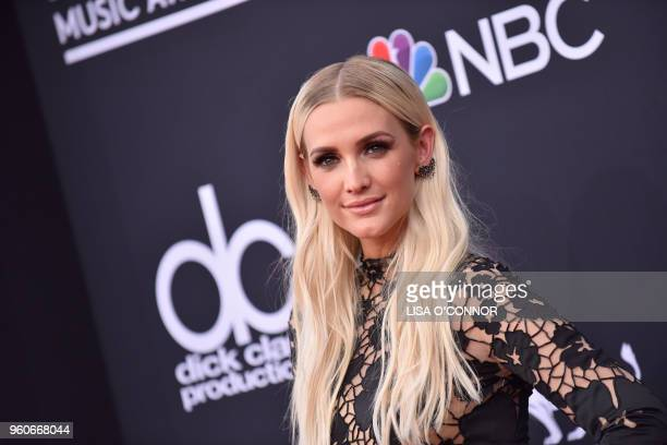 Singer/songwriter Ashlee SimpsonRoss attends the 2018 Billboard Music Awards 2018 at the MGM Grand Resort International on May 20 in Las Vegas Nevada