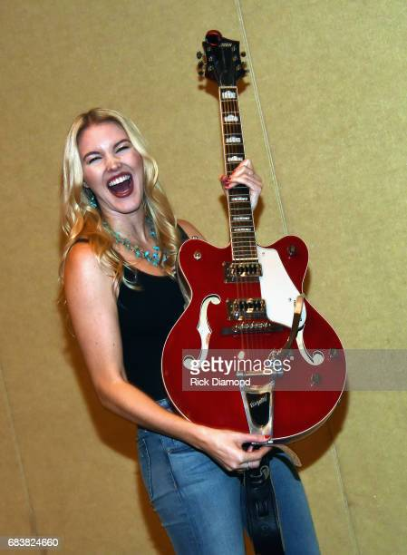 Singer/Songwriter Ashley Campbell backstage during Music Biz 2017 Industry Jam 2 at the Renaissance Hotel on May 15 2017 in Nashville Tennessee