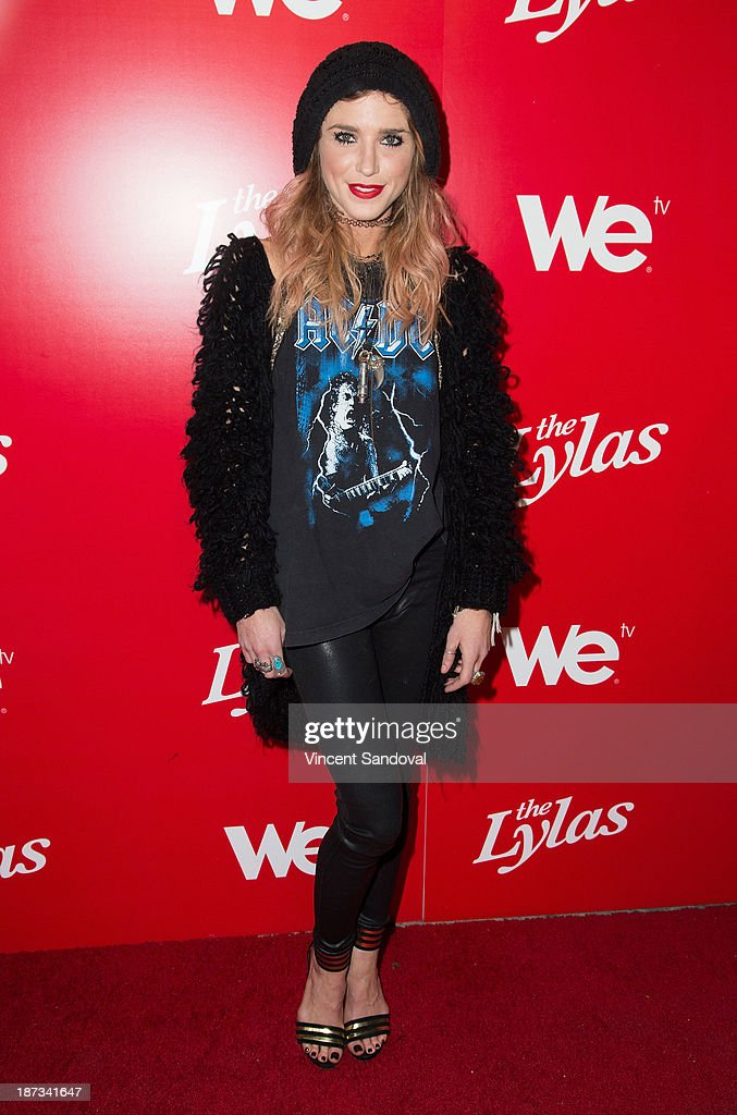 Singer/songwriter Astraea attends WE tv's premiere party for 'The LYLAS' at Warwick on November 7, 2013 in Hollywood, California.