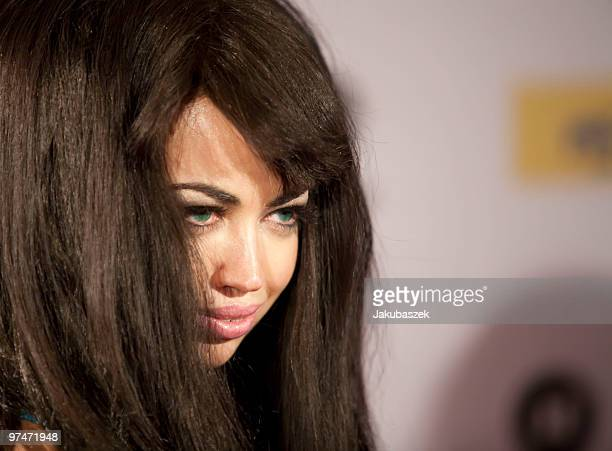 Singer/songwriter Aura Dione of Denmark attends ''The Dome 53'' concert event at the Velodrom on March 5 2010 in Berlin Germany