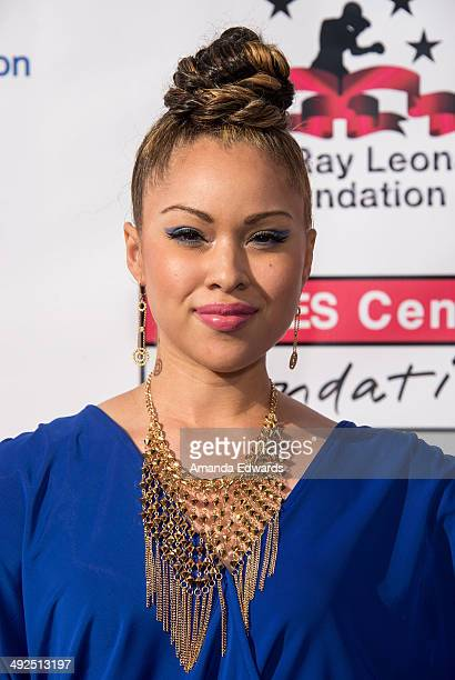 Singer/songwriter Ava Johnson arrives at the 5th Annual Big Fighters Big Cause charity boxing night benefiting The Sugar Ray Leonard Foundation at...