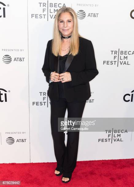 Singersongwriter Barbra Streisand attends Tribeca Talks Storytellers Barbra Streisand With Robert Rodriguez during 2017 Tribeca Film Festival at BMCC...