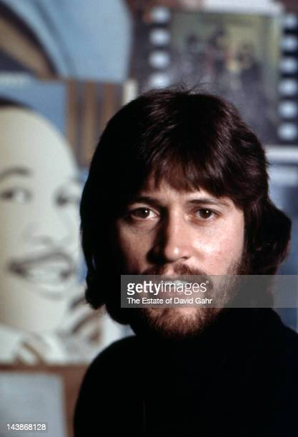 Singer/songwriter Barry Gibb of the musical group The Bee Gees poses for a portrait in April 1974 in Miami Florida