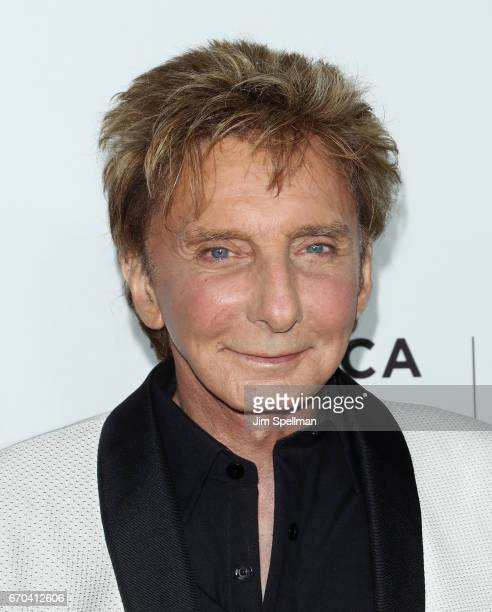 Singer/songwriter Barry Manilow attends the 2017 Tribeca Film Festival 'Clive Davis The Soundtrack Of Our Lives' world premiere opening night at...