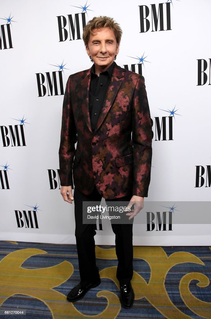 Singer-songwriter Barry Manilow attends the 65th Annual BMI Pop Awards at the Beverly Wilshire Four Seasons Hotel on May 9, 2017 in Beverly Hills, California.