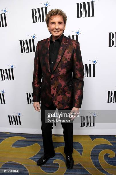 Singersongwriter Barry Manilow attends the 65th Annual BMI Pop Awards at the Beverly Wilshire Four Seasons Hotel on May 9 2017 in Beverly Hills...
