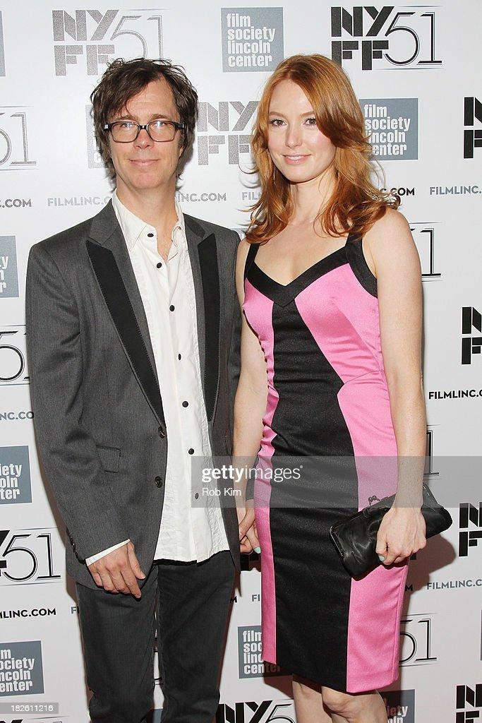 Ben Folds with beautiful, Girlfriend Alicia Witt