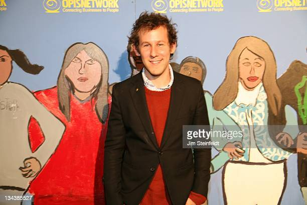 SingerSongwriter Ben Lee poses for a portrait at PeaceLink Live a concert event that inspires and celebrates inner and global peace through music and...