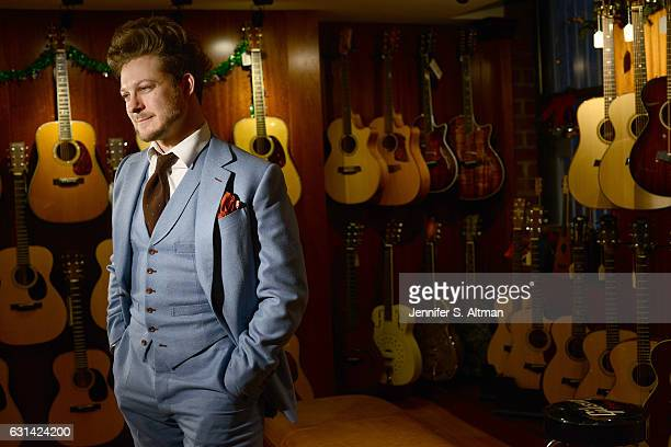 Singer/songwriter Benjamin Scheuer is photographed for Los Angeles Times on December 16 2016 in New York City PUBLISHED IMAGE