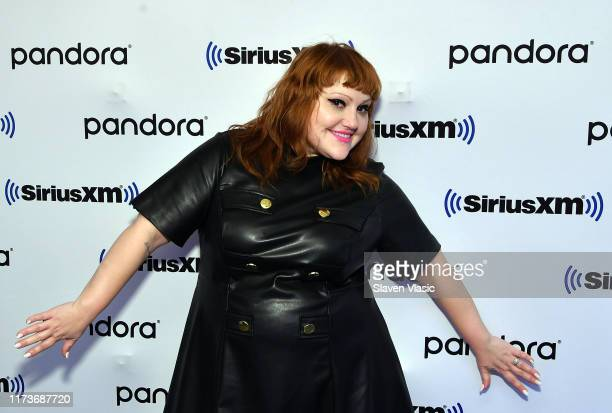 Singer/songwriter Beth Ditto visits SiriusXM Studios on October 4, 2019 in New York City.