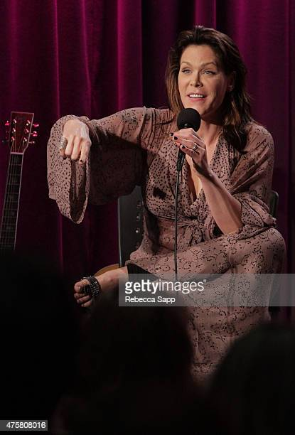 Singersongwriter Beth Hart speaks onstage at The Drop Beth Hart at The GRAMMY Museum on June 3 2015 in Los Angeles California