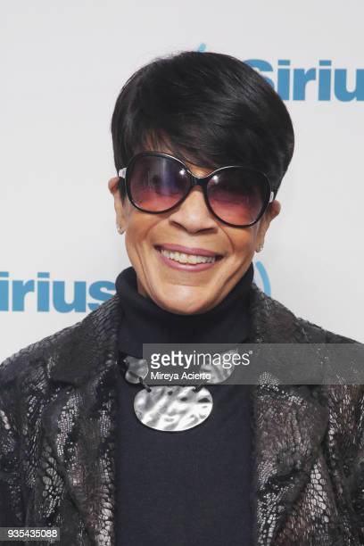Singer/songwriter Bettye Lavette visits SiriusXM Studios on March 20 2018 in New York City