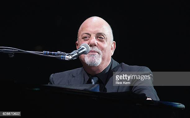 Singersongwriter Billy Joel performs in concert at ATT Center on December 9 2016 in San Antonio Texas