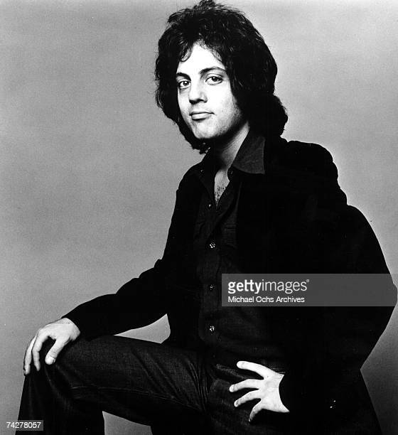 Singer/songwriter Billy Joel poses for a portrait in circa 1974.
