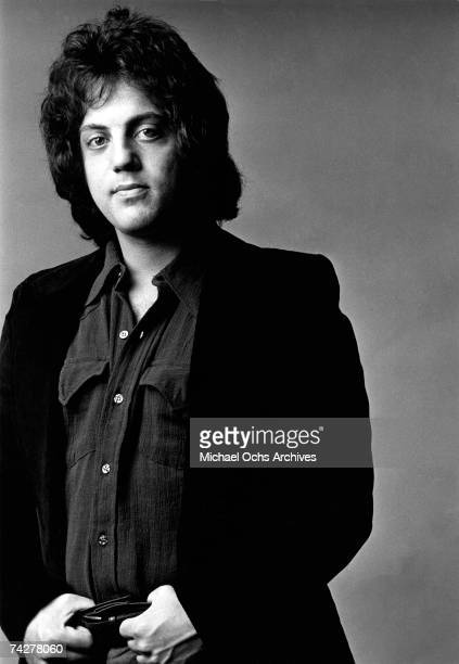 Singer/songwriter Billy Joel poses for a portrait in circa 1974