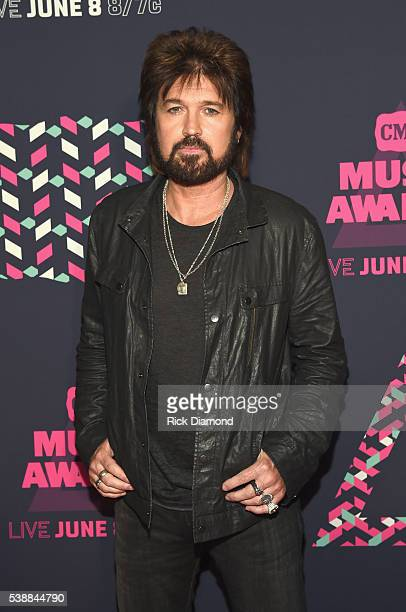 Singersongwriter Billy Ray Cyrus attends the 2016 CMT Music awards at the Bridgestone Arena on June 8 2016 in Nashville Tennessee