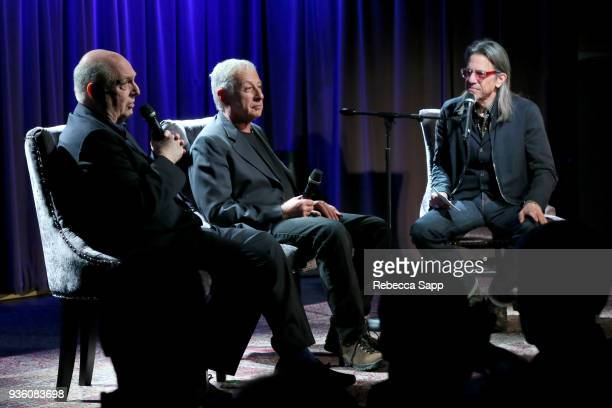 Singer/songwriter Billy Vera and director Alan Swyer speak with GRAMMY Museum Executive Director Scott Goldman at Reel To Reel Harlem To Hollywood...
