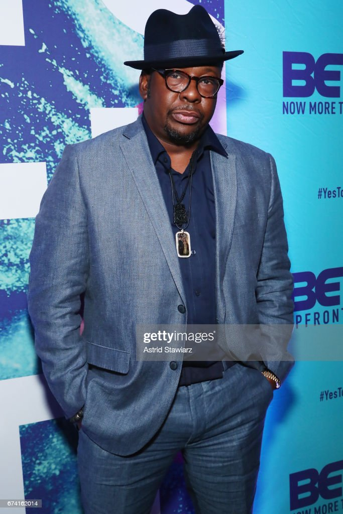 Singer-songwriter Bobby Brown attends the 2017 BET Upfront NY at PlayStation Theater on April 27, 2017 in New York City.