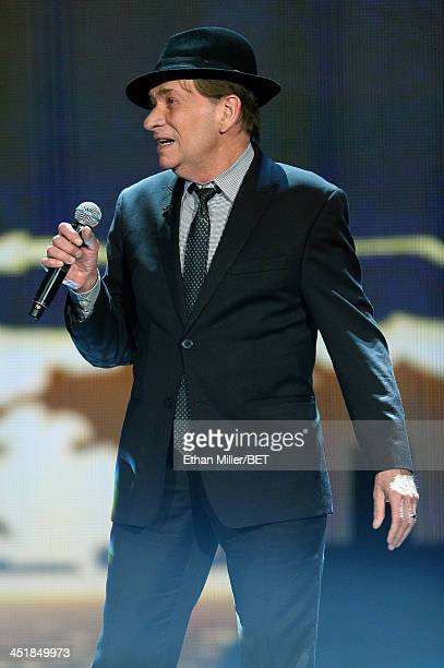 Singer/songwriter Bobby Caldwell performs during the Soul Train Awards 2013 at the Orleans Arena on November 8 2013 in Las Vegas Nevada