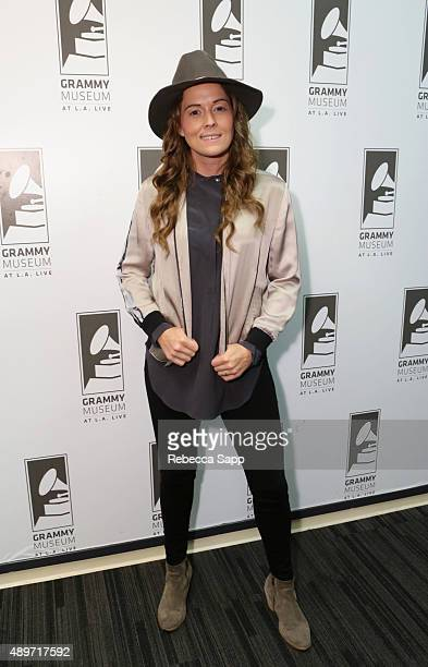 Singer/songwriter Brandi Carlile at An Evening With Brandi Carlile attends on September 23 2015 in Los Angeles California