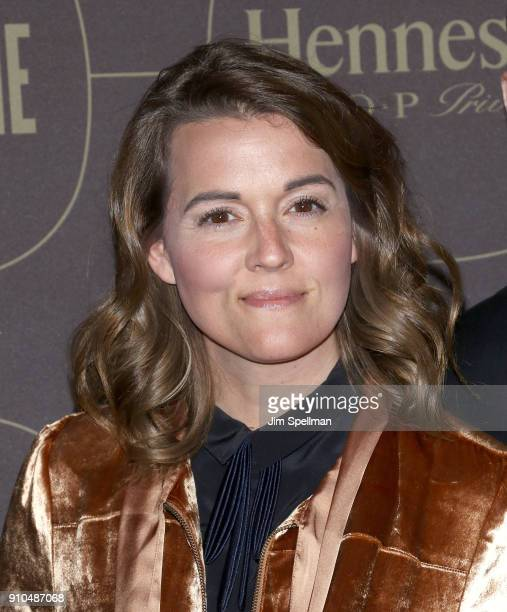 Singer/songwriter Brandi Carlile attends the 2018 Warner Music Group Pre Grammy Celebration at The Grill The Pool Restaurants on January 25 2018 in...