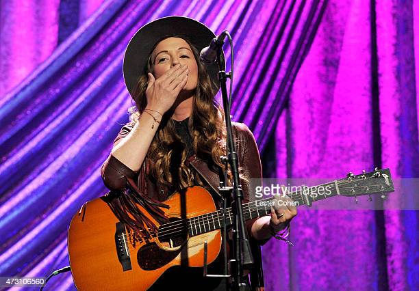 Singersongwriter Brandi Carlile performs during the 63rd Annual BMI Pop Awards held at the Beverly Wilshire Hotel on May 12 2015 in Beverly Hills...