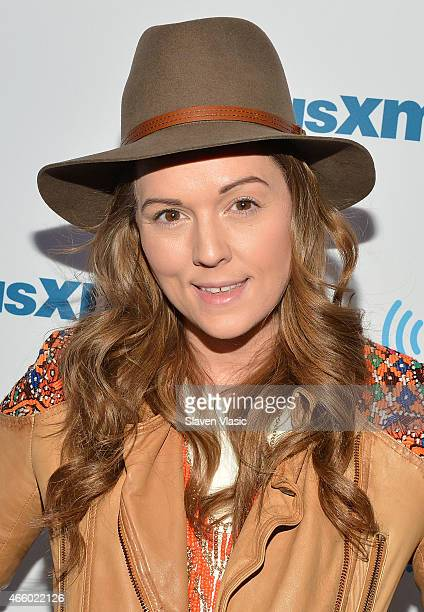 Singer/songwriter Brandi Carlile visits SiriusXM Studios on March 12 2015 in New York City