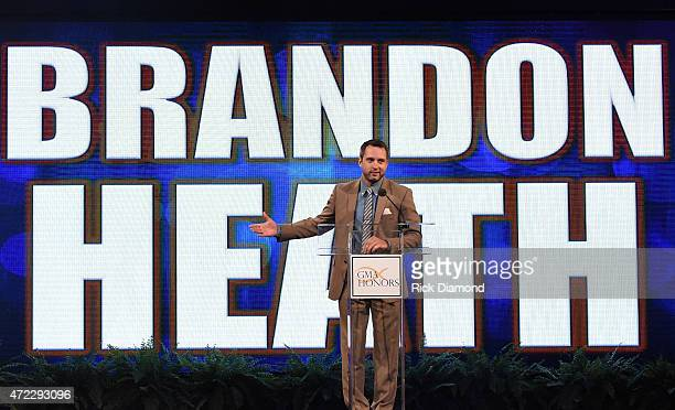 Singer/Songwriter Brandon Heath presents during The 2nd Annual GMA Honors at Allen Arena, Lipscomb University on May 5, 2015 in Nashville, Tennessee.