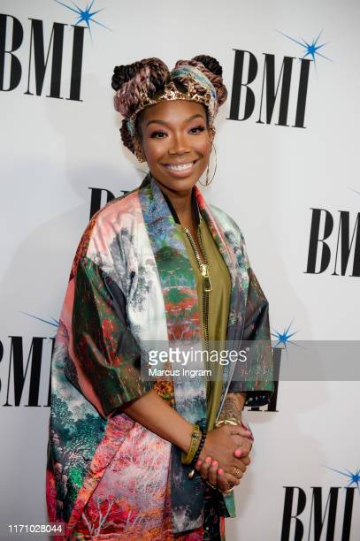 Singersongwriter Brandy attends the 2019 BMI RB/HipHop Awards on August 29 2019 in Sandy Springs Georgia