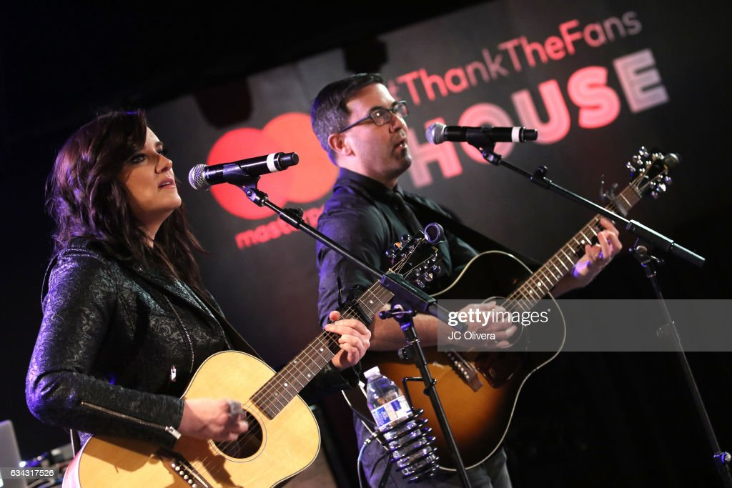 Mastercard Hosts an Exclusive Preview of the Masterpass #ThankTheFans House with performance by Brandy Clark