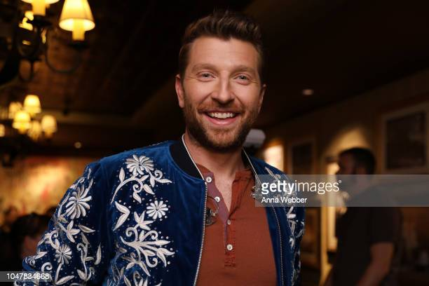 Singersongwriter Brett Eldredge attends An Opry Salute to Ray Charles at The Grand Ole Opry on October 8 2018 in Nashville Tennessee