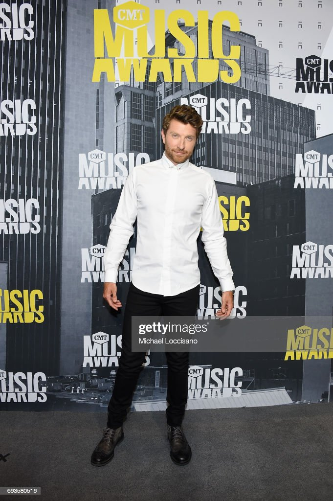 Singer-songwriter Brett Eldredge attends the 2017 CMT Music Awards at the Music City Center on June 7, 2017 in Nashville, Tennessee.