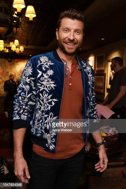 Singersongwriter Brett Eldredge backstage during An Opry Salute to Ray Charles at The Grand Ole Opry on October 8 2018 in Nashville Tennessee