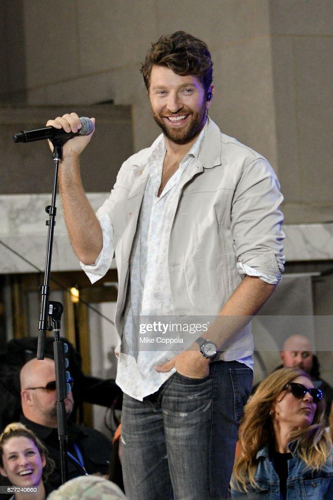 """Brett Eldredge Performs On NBC's """"Today"""""""
